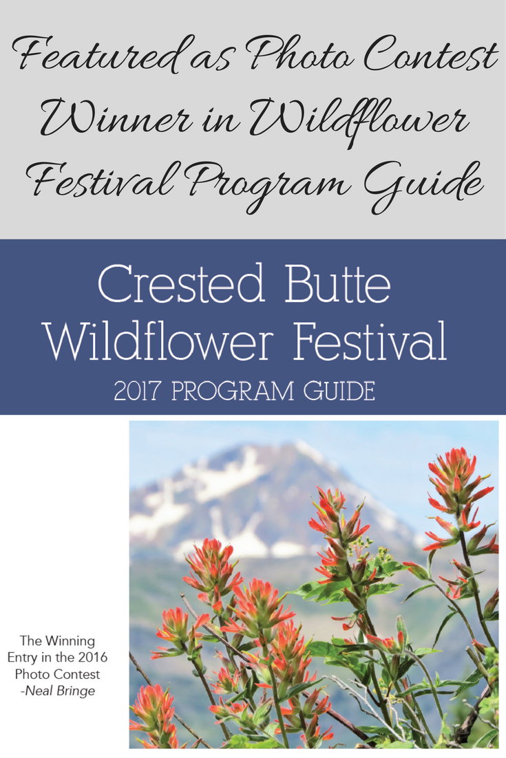 Crested Butte Wildflower Photo Contest Winner 2016